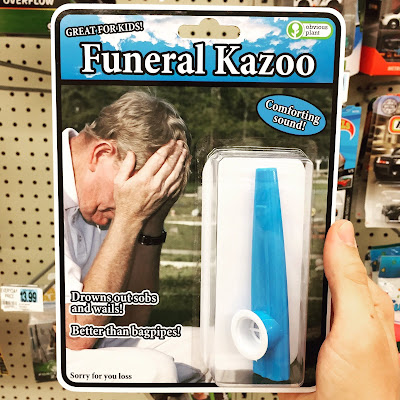 Funny Funeral Kazoo Product Picture