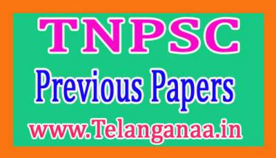 TNPSC Tamil Nadu Public Service Commission Previous Papers  PDF Download