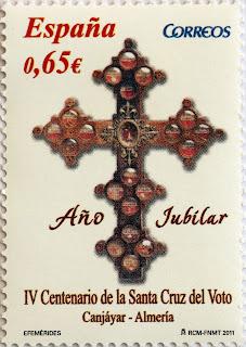 AÑO JUBILAR. IV CENTENARIO DE LA SANTA CRUZ DEL VOTO