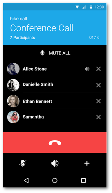 How can make Free group call/Conference call?