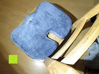 Kissen auf dem Stuhl: PREMIUM Memory-Schaum Posture orthopädische Sitzkissen , für Rückenschmerzen , Steißbein, Ischias, FREE Carry Bag & FREE Sitzkissenbezug von SunrisePro - 100% Unconditional