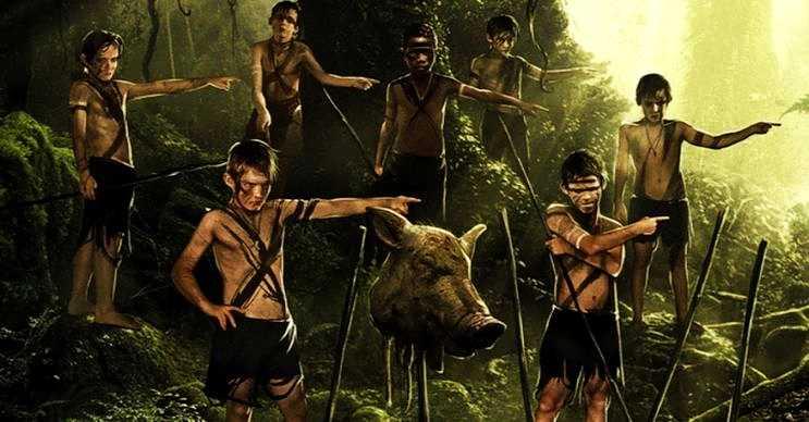 Sineklerin Tanrısı filmi de aynı bu hikaye gibi adada mahsur kalan çocukları anlatıyordu.