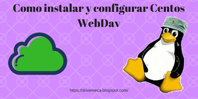 Como instalar y configurar Centos WebDav