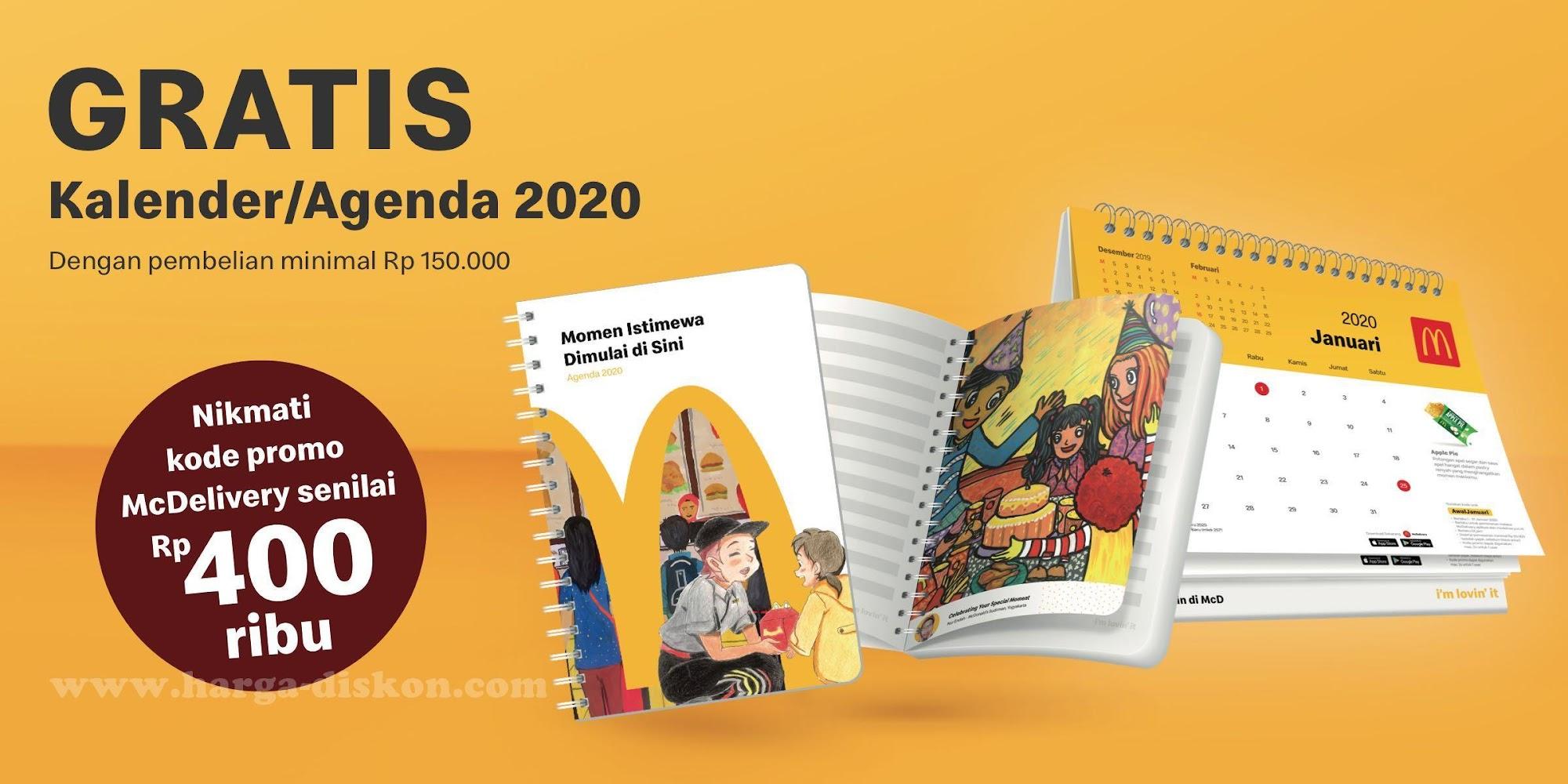 Mcdonalds Kalender 2020
