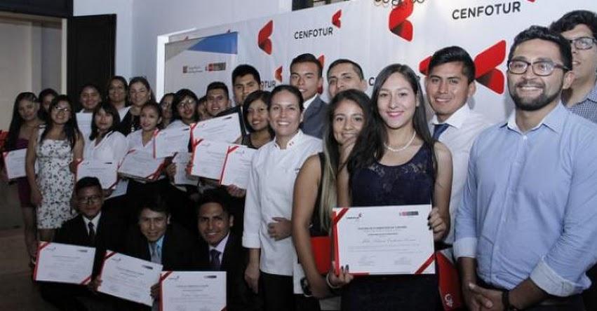 PRONABEC: Primera promoción de becarios de CENFOTUR culmina sus estudios - www.pronabec.gob.pe