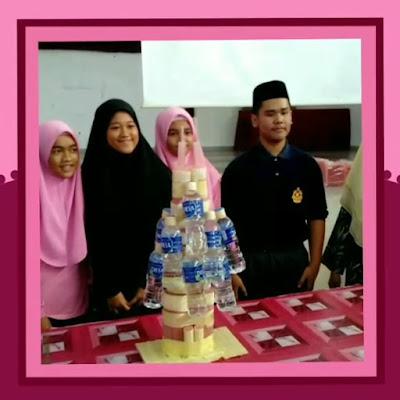 Aktiviti STEM Menara Jubilee di Karnival STEM SMK Sri Perhentian, Johor
