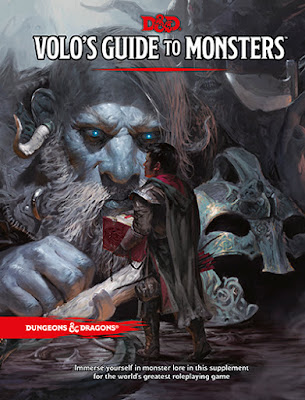 Dungeons & Dragons Volo's Guide to Monsters Standard Cover