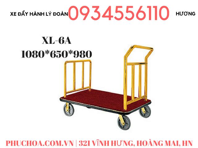 Xe đẩy hành lý khách sạn có sẵn ở Hà Nội