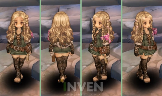 Tree of Savior blonde hair dye