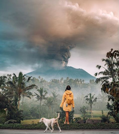 However, Indonesian authorities warn that at least 100,000 islanders will likely be forced to leave in case of a full eruption.