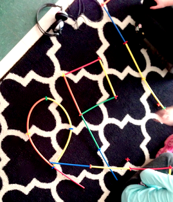 straws and connector activities