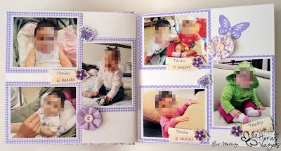 álbum livro de mensagens recados personalizado