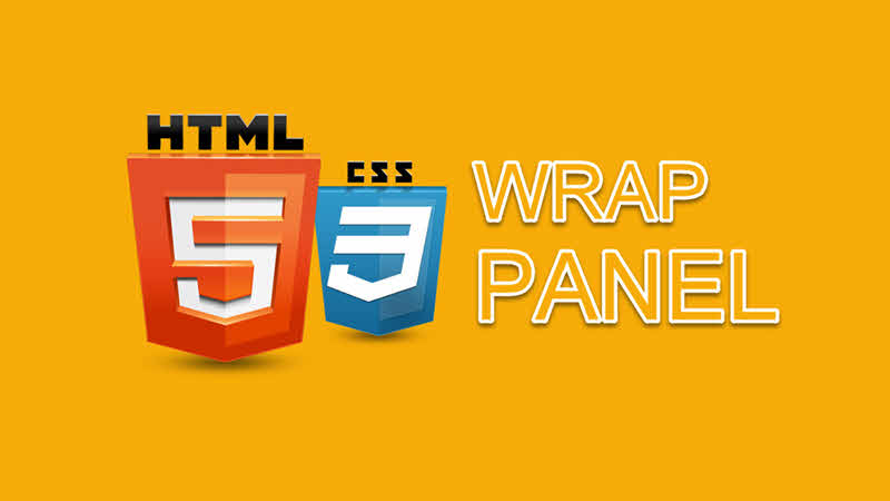 How to create HTML WrapPanel using the CSS Flexbox Layout?