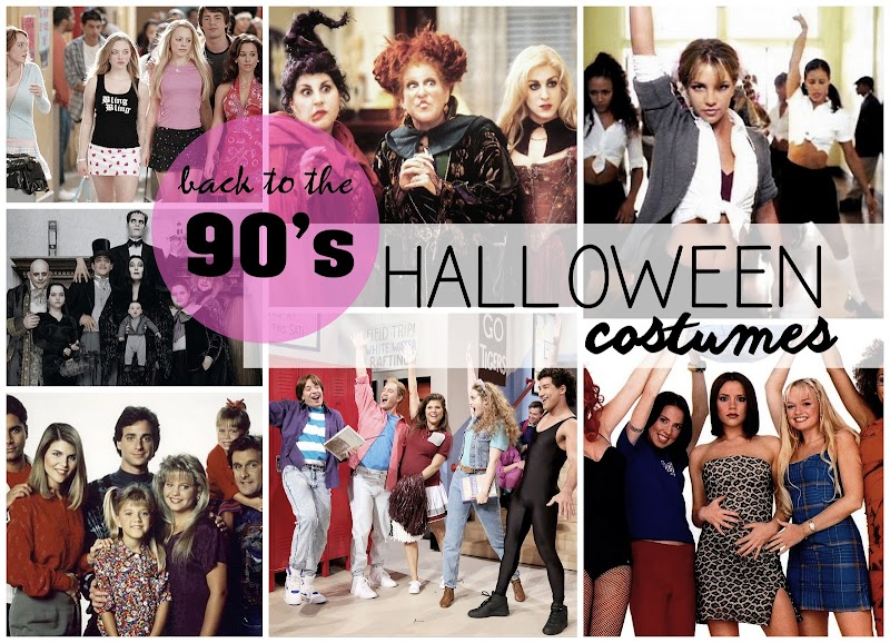 HALLOWEEN | BACK TO THE 90'S COSTUMES