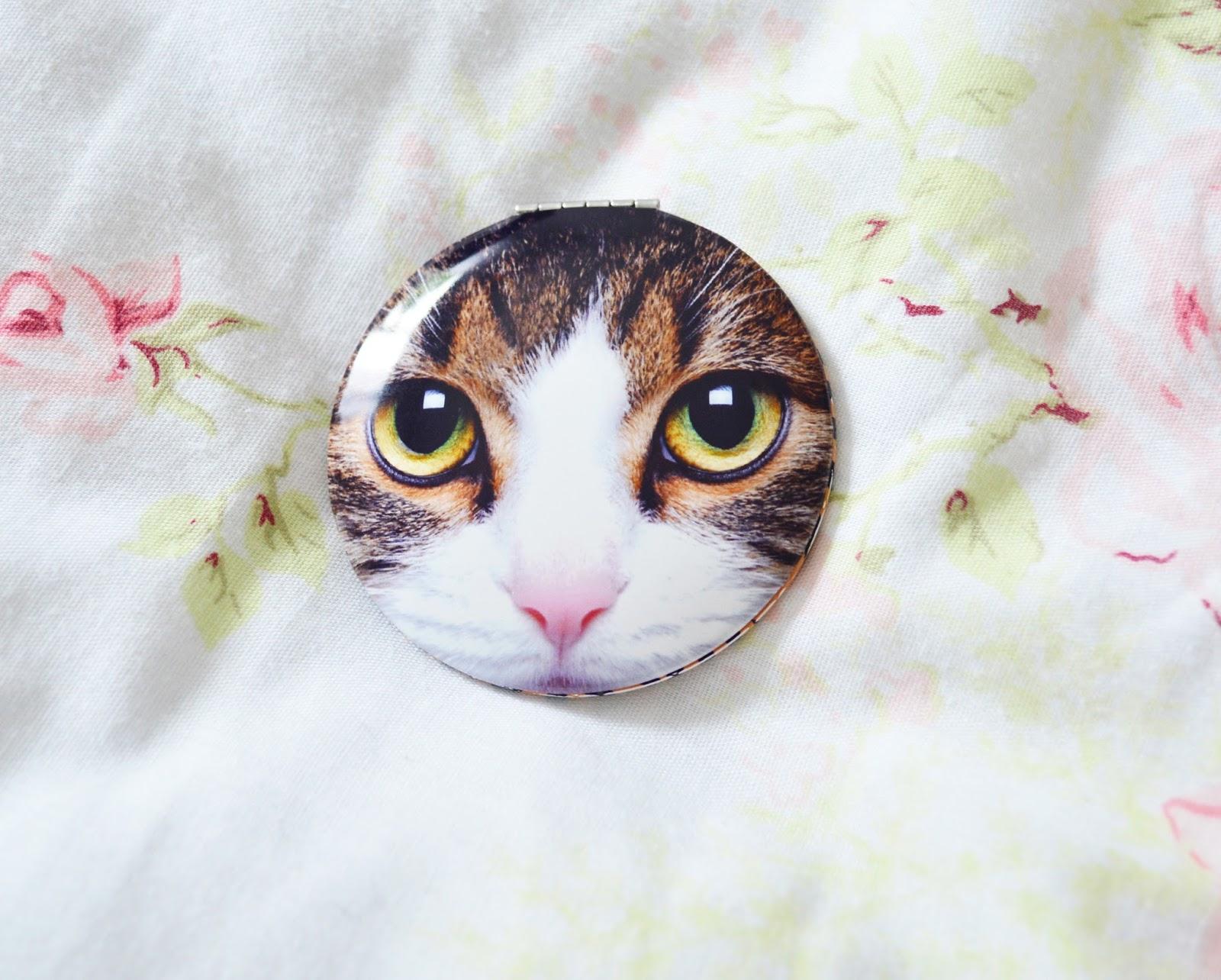View Catseye London Cat Makeup Bag Background