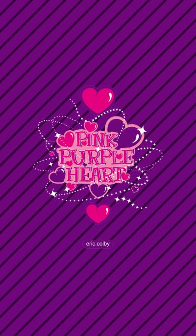Pink Purple Heart