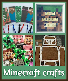 Minecraft crafts for children round up