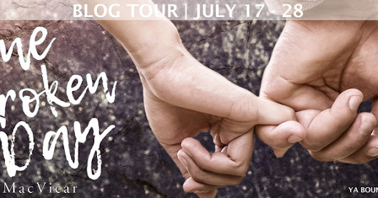 ONE BROKEN DAY by Melissa MacVicar {Choose A Cover Poll/Teaser/Giveaways}