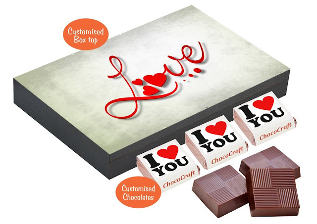 Gift Your Partner Chocolates with Lovely Messages