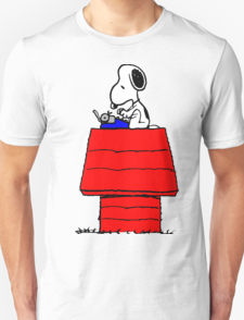 Typewriter Snoopy T-shirt