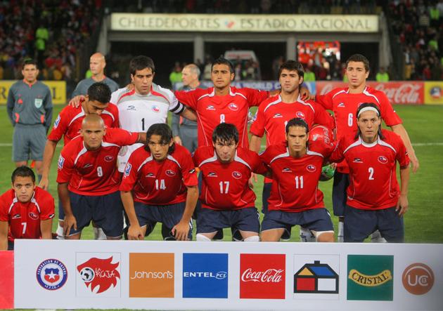 Formación de Chile ante Brasil, Clasificatorias Sudáfrica 2010, 7 de septiembre de 2008