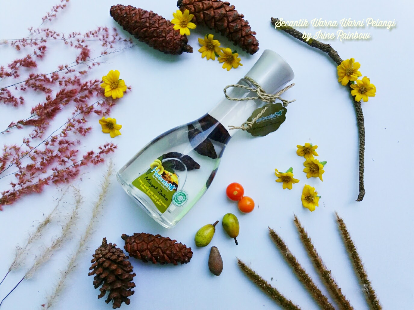 Review Herborist Minyak Zaitun 150ml Kemasan