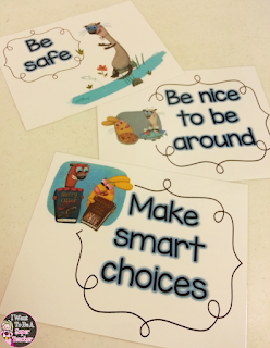 Back to School idea using Do Unto Otters for classroom rules PLUS otter guided drawing examples for students