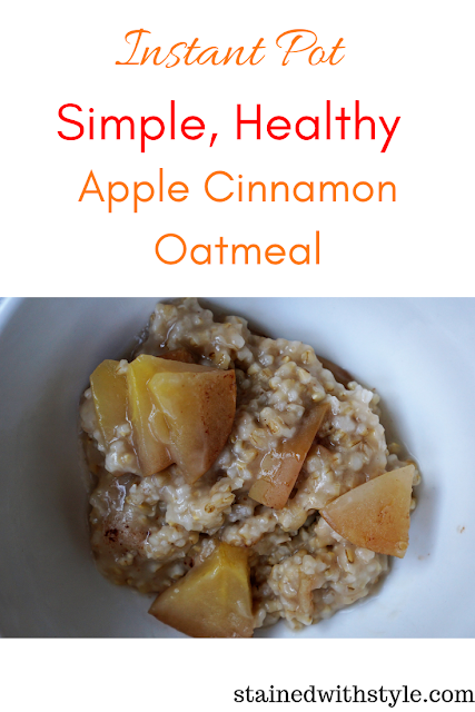 Instant Pot, Breakfast, Oatmeal, instant pot oatmeal, quick oatmeal, steel oats, quick oats recipe, instant pot steel cut oats, instant pot pressure cooker, pressure cooker oatmeal