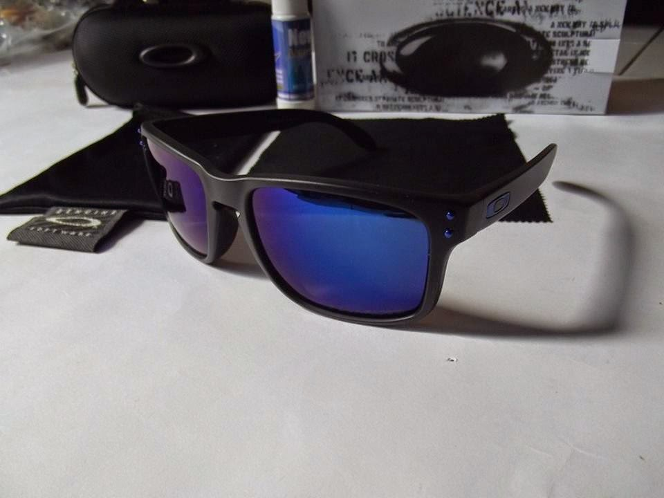 ... new zealand kacamata oakley holbrook black dark blue lens 9ea57 af810 488cbaa82d