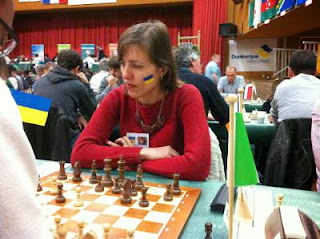 La grand-Maître Tatiana Kostiuk au 30e édition du tournoi d'échecs - Photo © Chess & Strategy