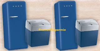 Logo Concorso ''Stai fresco con Carrefour'' : vinci 15 frigo portatili e frigo Smeg