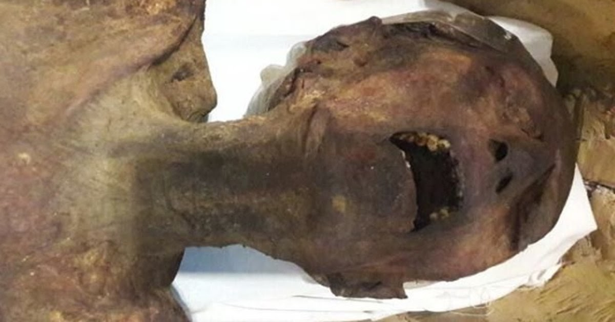 The mystery of Egypt's 'screaming mummy'
