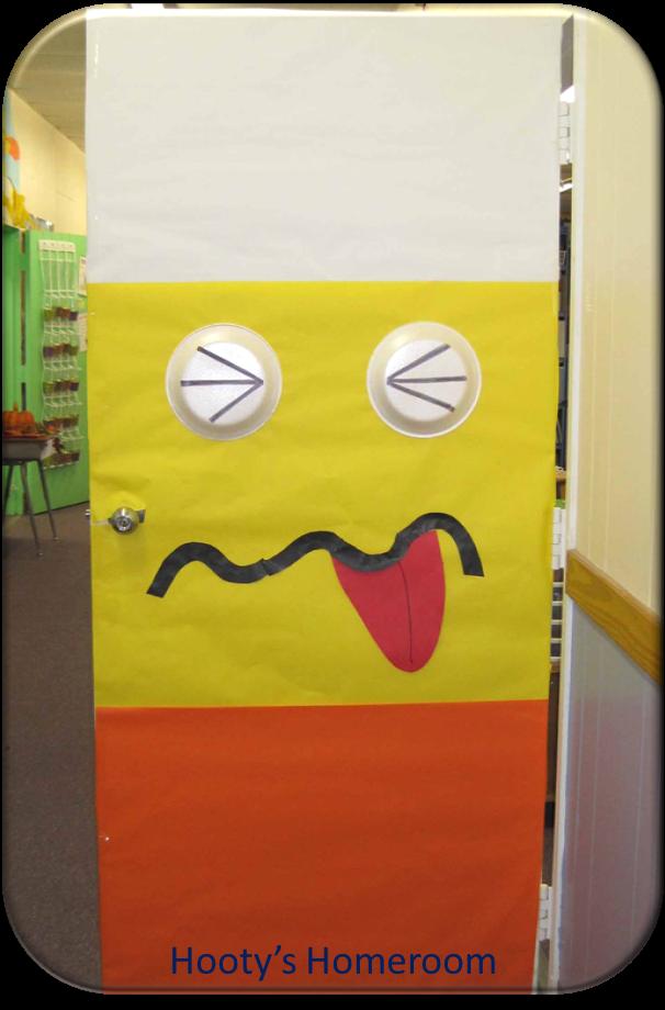 Halloween Classroom Door Decoration ~ Halloween decorating ideas hooty s homeroom