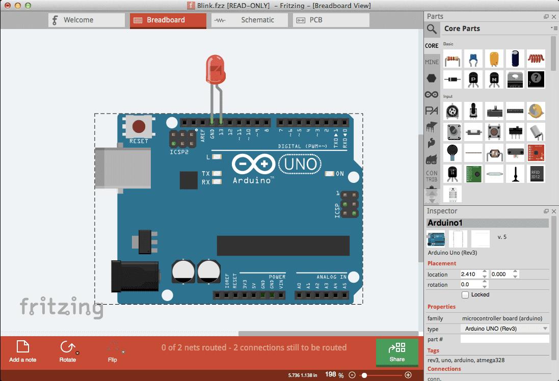 telecharger gratuit logiciel fritzing pour fabriquer mes circuits cours electronique et. Black Bedroom Furniture Sets. Home Design Ideas
