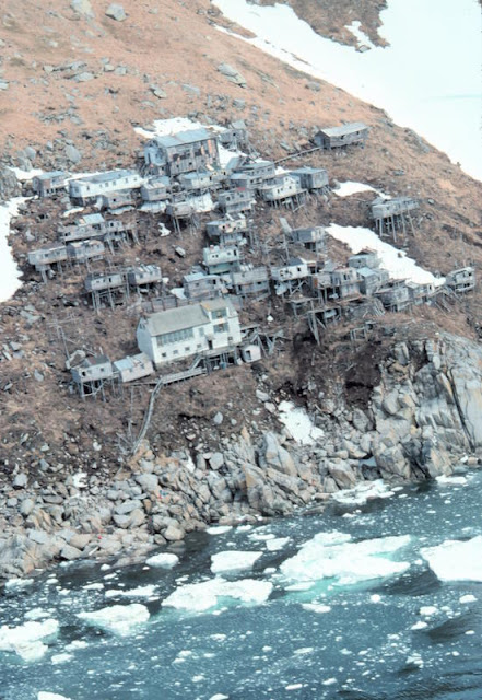 King Island: Alaska's Inuit Ghost Village on Stilts