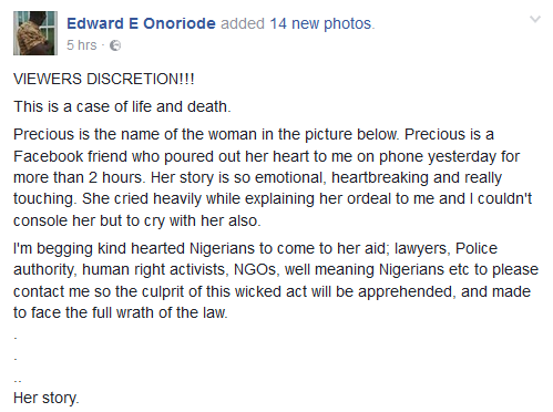 LADY STABBED BY HER EX-BOYFRIEND'S FRIEND WHOM SHE HELPED IN KWARA – THE DETAILS WILL SHOCK YOU (GRAPHIC PHOTOS)