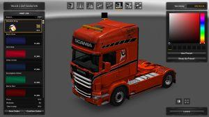 Swedish King Skin for Scania RJL