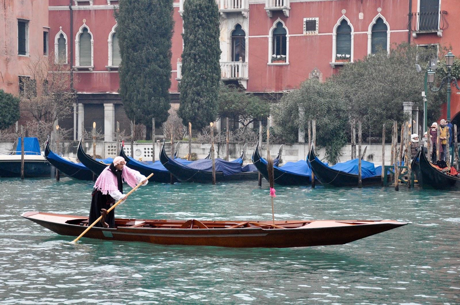 Pink Befana, Befana race, Venice, Italy
