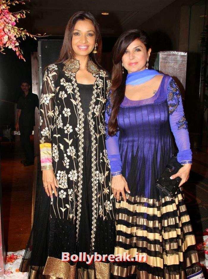 Achla Sachdev, Babita Malkani, Siddharth Kannan & Neha Agarwal Wedding Reception Pics