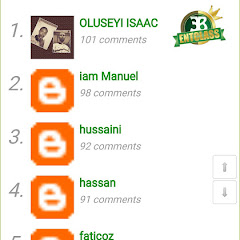 Airtime Giveaway to Top Most Active Commenters for October 2017