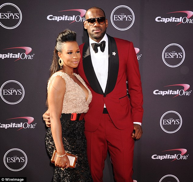6b02e3512204 Basketball s MVP LeBron James married his longtime girlfriend Savannah  Brinson in a lavish San Diego ceremony on Saturday. The 28-year-old  multimillionaire ...
