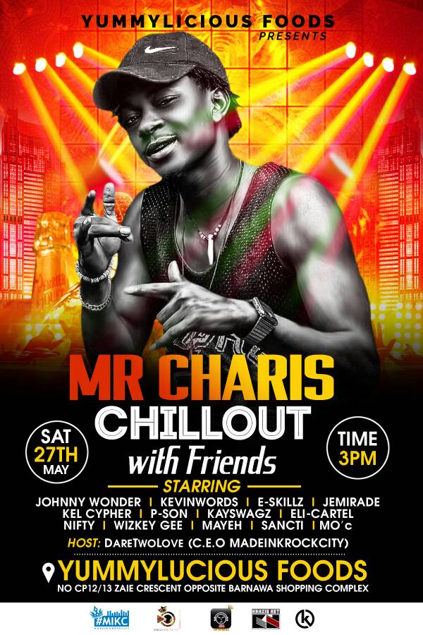 [EVENT] CHILLOUT WITH MR. CHARIS AND FRIENDS