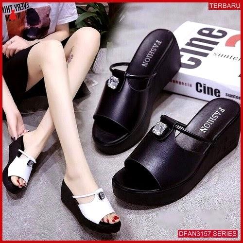 DFAN3157S249 Sepatu Mr 115 Wedges Wanita Sol Tidak BMGShop