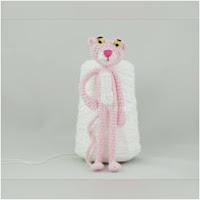 http://amigurumislandia.blogspot.com.ar/2018/05/amigurumi-pantera-rosa-canal-crochet.html