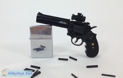 Mini revolver toy gun