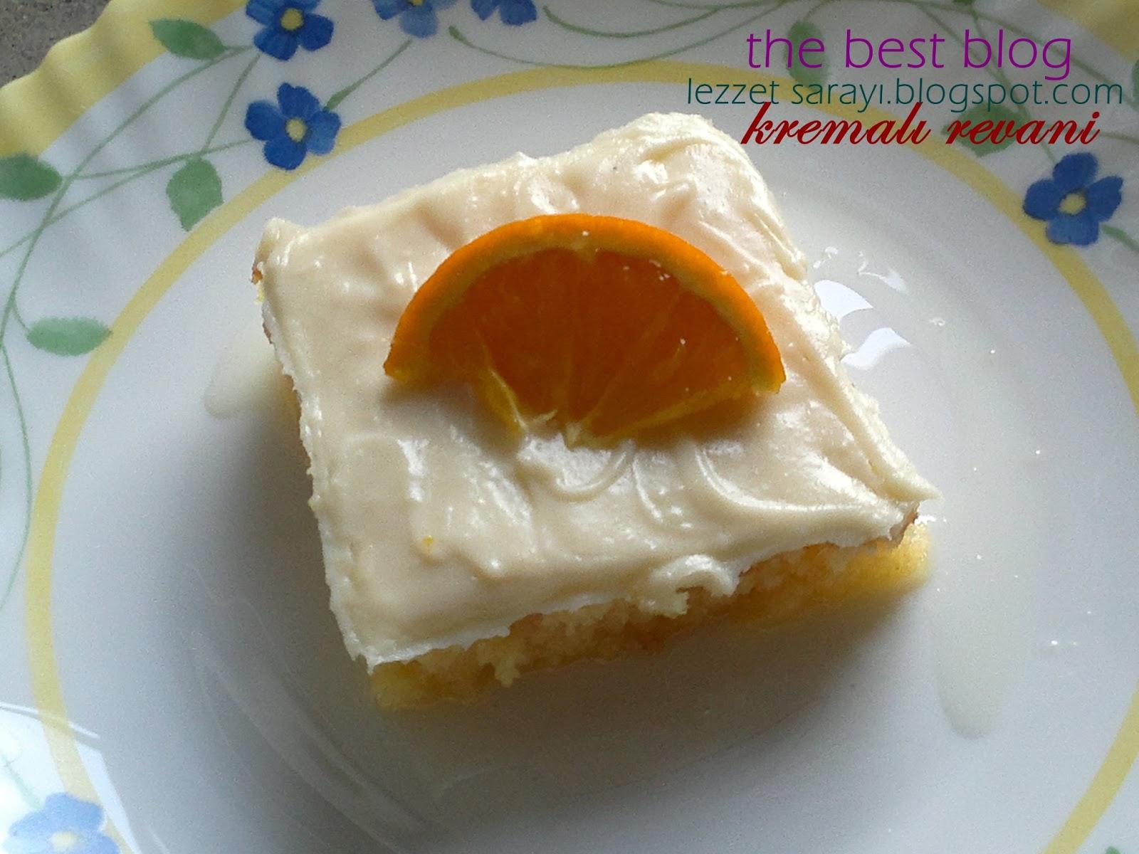 Kremalı Revani Pastası