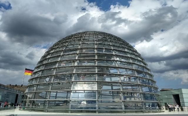 La cúpula, vista exterior