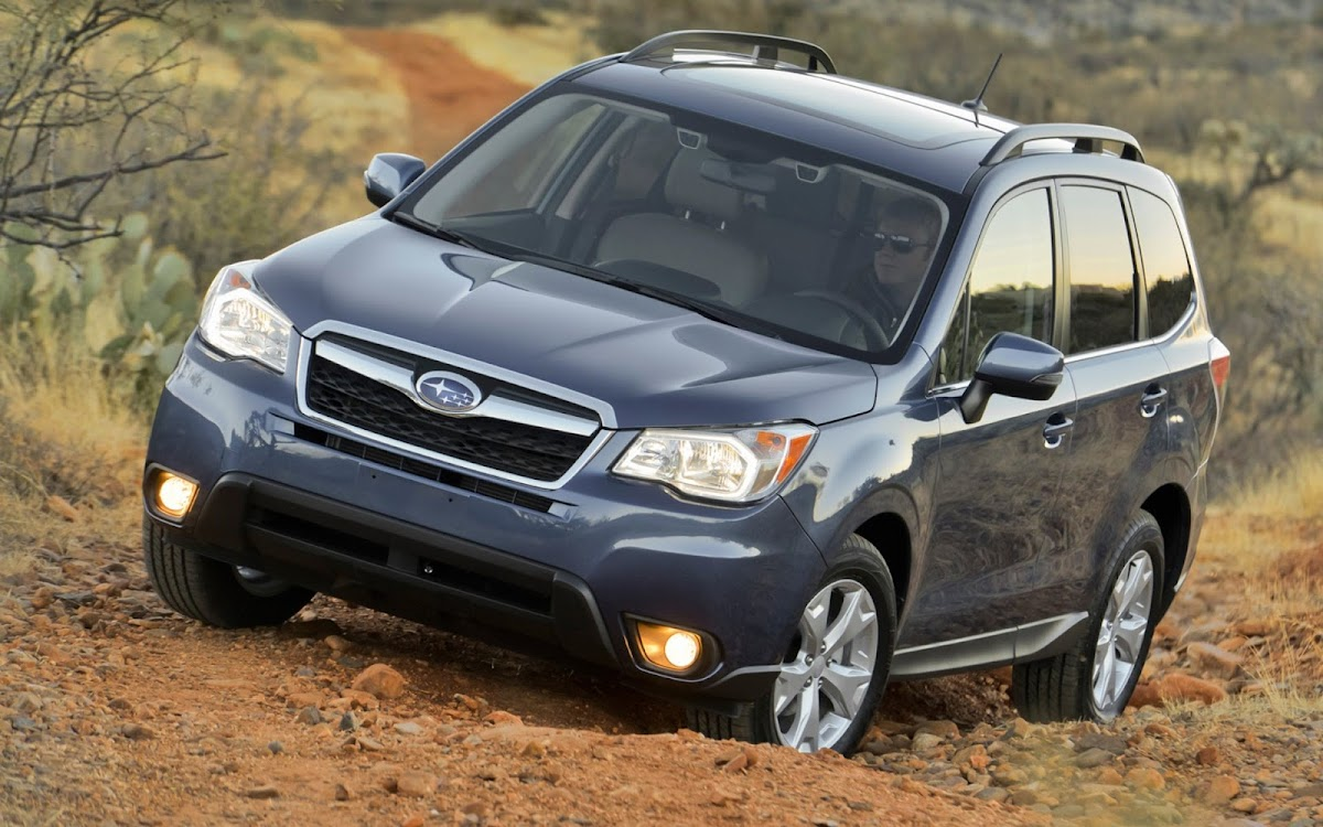 2014 Subaru Forester Widescreen HD Wallpaper 8