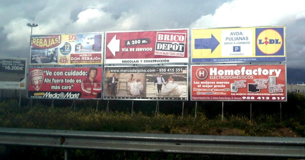 Vallas publicitarias espa a vallas granadinas vol i - Brico depot leon ...