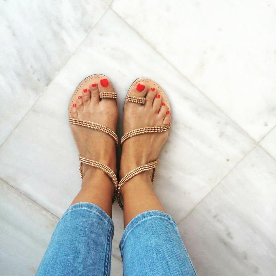 bd36e1d840f elenas sandals: Σανδάλια 2016